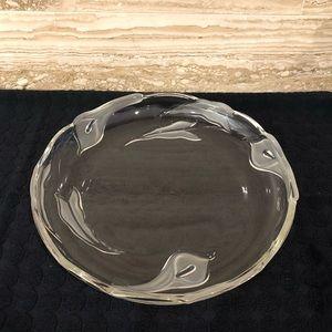 Mikasa Crystal Serving Platter